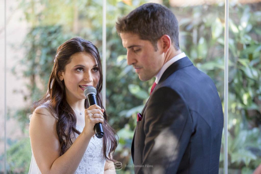 novia ceremonia civil finca quinta del jarama