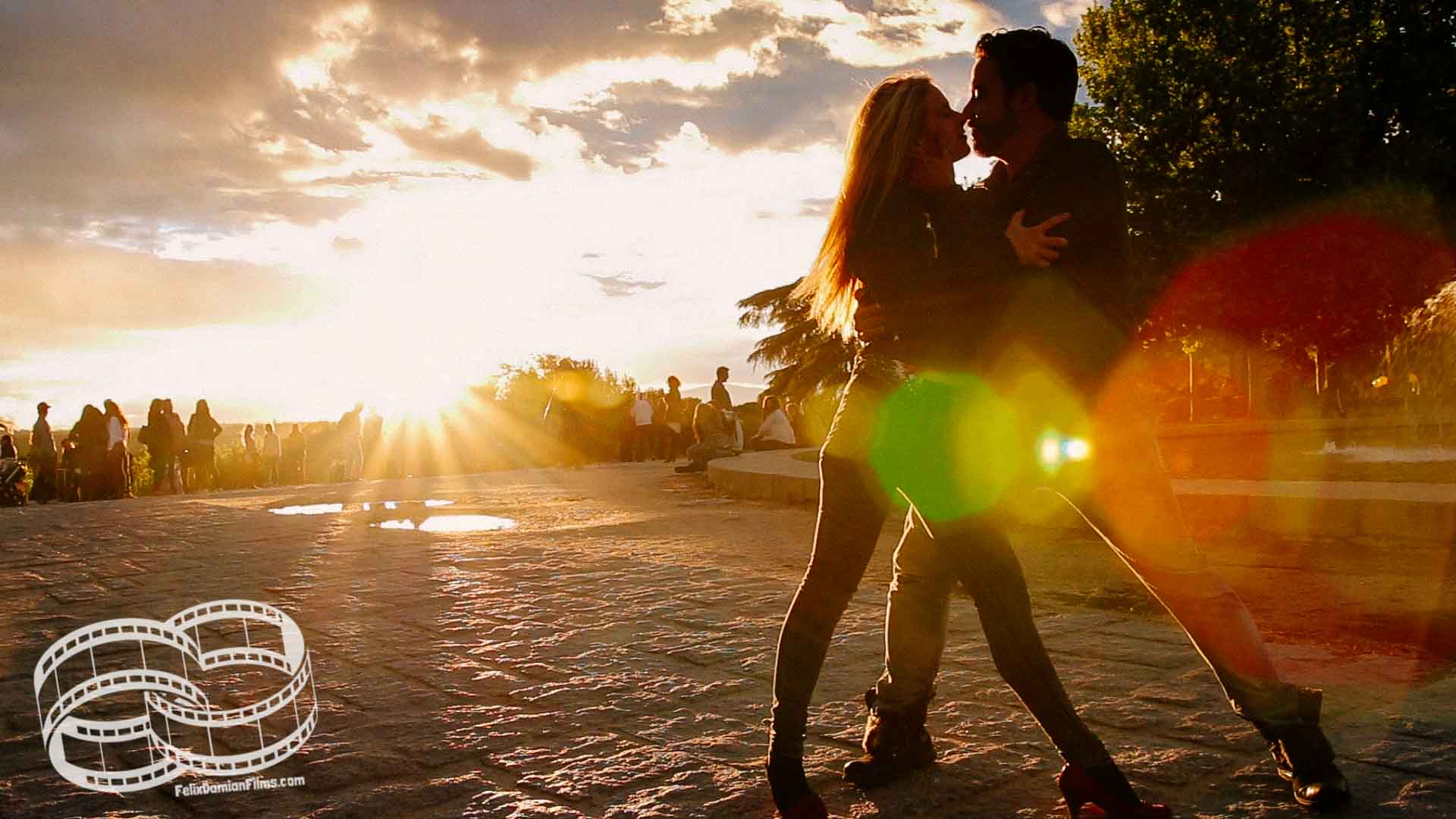 Engagement photographer and videographer in Madrid