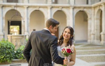 Madalina y Antonio, una boda en la Universidad de Alcalá
