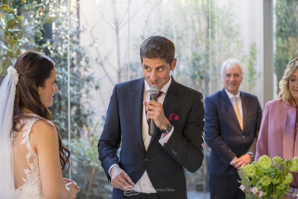 novio ceremonia civil