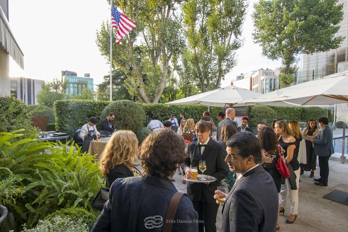 embajada de estados unidos evento