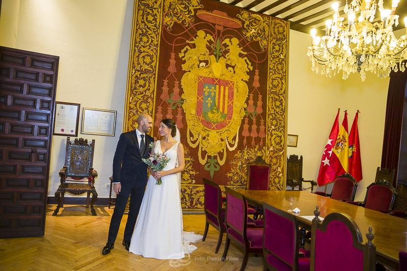 foto de recién casados