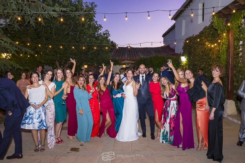 invitados de boda vega del henares