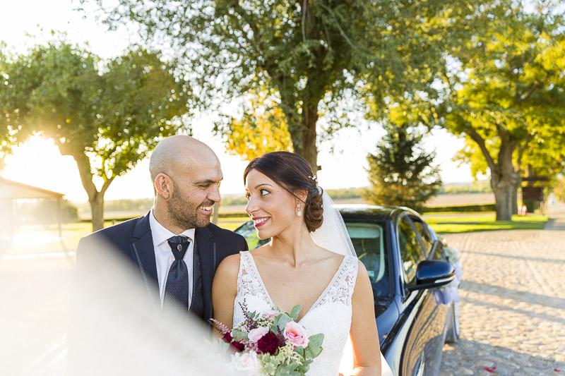 novios boda en la vega del henares