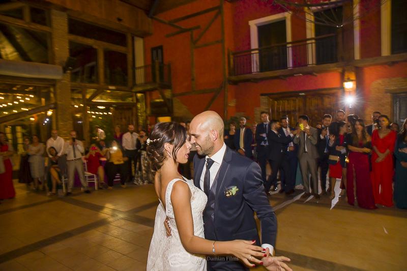 baile de novios boda en la vega del henares