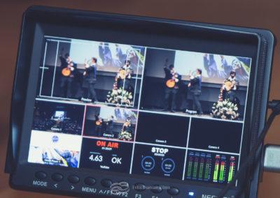 streaming live video de evento en directo